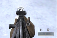 MP44 Iron Sights Firing WaWFF