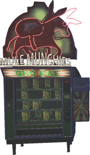 Mule Munchies Perk Machine IW