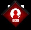 Участник года 2019 (значок)