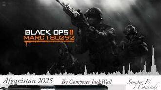 Black Ops 2 Soundtrack Afganistan 2025