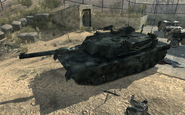 Destroyed Abrams Dome MW3