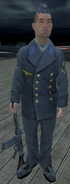 Kriegsmarine Sailor Guarding the Tirpitz