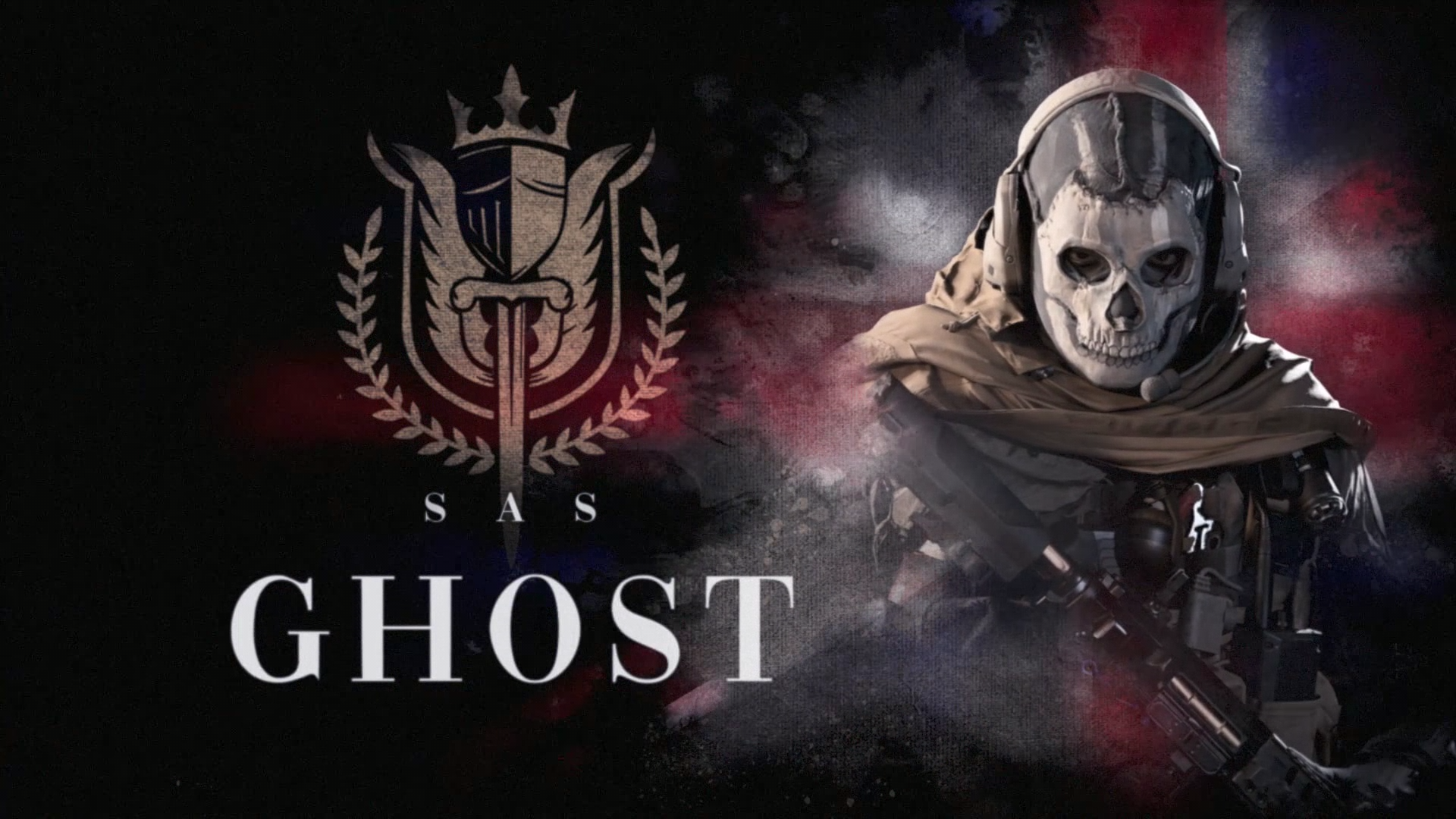 call of duty warzone ghost skin wallpaper