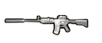 M4A1 Suppressed Pickup MW2