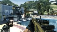 Pool Firefight Getaway MW3