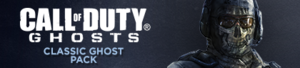 Classic Ghost Pack DLC banner CoDG
