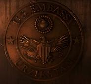 U.S Embassy Insignia in Urzikstan MW2019