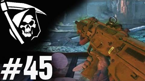 43-1 FREE FALL INFECTED 45 - Call of Duty Ghosts K.E.M. Strike Gameplay by TheRelaxingEnd