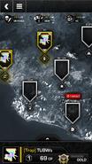 Call of Duty (app) Clan Wars Menu