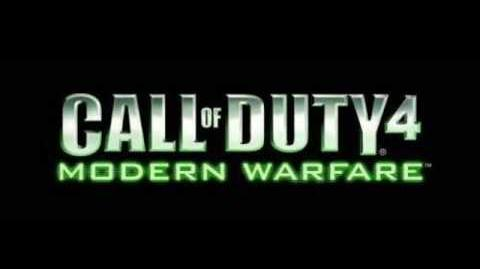 Call of Duty 4 Modern Warfare OST - Crew Expendable