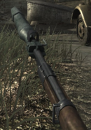 Kar98k Rifle Grenade in use WaW