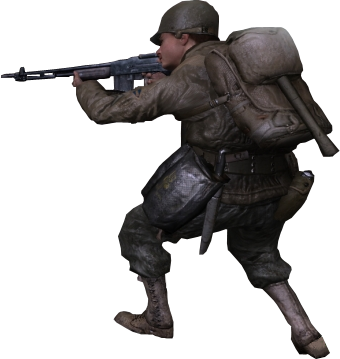 File:BAR 3rd person Ranger CoD2.png