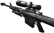 Barrett .50cal One Shot, One Kill CoD4