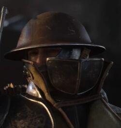 Cavalier Head NaziZombies WWII