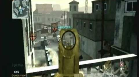 User Blog Thepythnator Mg36 Mw3 Weapon Summary Call Of Duty Wiki Fandom