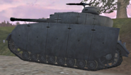 Panzer IV side view UO
