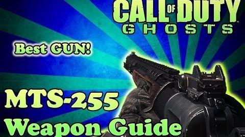 Ghosts - MTS-255 SHOTGUN WEAPON GUIDE (BEST SHOTGUN IN GHOSTS EP