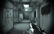 Interior of inner ship passageways Crew Expendable CoD4