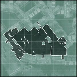Iron Lady minimap courtyard MW3