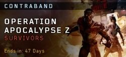 OperationApocalypseZ Survivors Contraband BO4