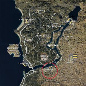 Factory Blackout Map BO4