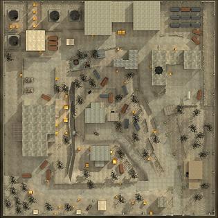 Facility minimap CoD4