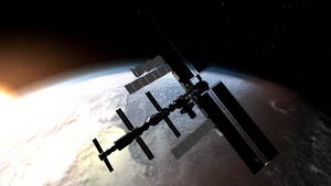 International Space Station Second Sun MW2