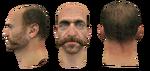 John Price head test models CoD4