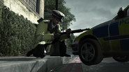 MPS Officer SPAS-12 Mind the Gap MW3