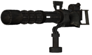 Minigun Mounted model CoDG