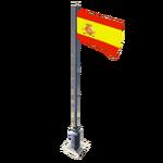 Flag 10 Spain menu icon CoDH