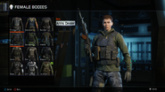 Arms Dealer Body Female BO3