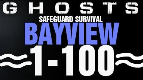 BayView Rounds 1-100 Full Gameplay - Call of Duty Ghosts Safeguard Survival Infinite Completed