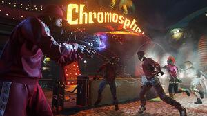 COD Infinite Warfare Zombies in Spaceland Andre in Chromosphere