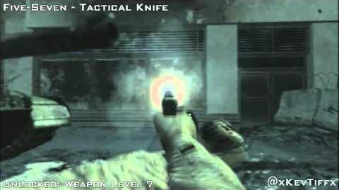 MW3 Five Seven All Attachments Weapon Showcase Guide - Modern Warfare 3