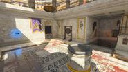 Pack-a-Punch IX gong komnata z ołtarzem Zeusa
