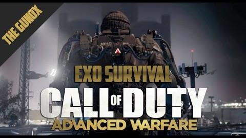 CoD AW - ( Co Op) - Exo Survival Gameplay 6