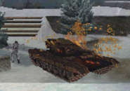 Destroyed Russian Armor Isolation MW3DS