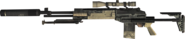 M14 EBR Silencer 3rd Person MW3