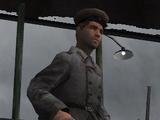 Комиссар с громкоговорителем (Сталинград)