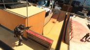 Grind half-pipe ramp BOII