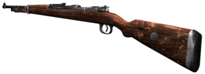 Kar98k Third Person CoD3