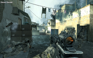 Returning to insertion point Charlie Don't Surf CoD4