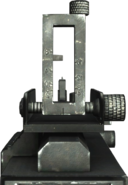 T34 MG Iron Sights WaW