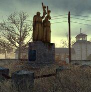 Wasteland-statue