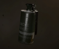 Smoke Grenade menu icon WWII