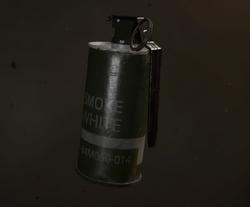 Smoke Grenade menu icon WWII
