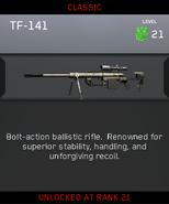 TF-141 Zombies Unlock Card IW