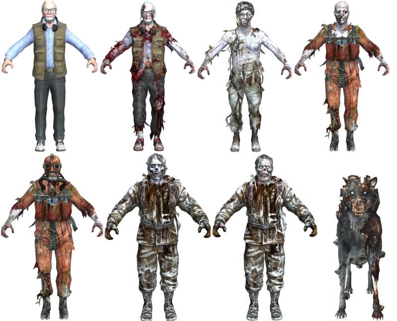 Image Call Of The Dead Zombie Character Models Bog Call Of