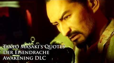 """Der Eisendrache - Takeo Masaki's quotes Sound files (Black Ops III """"Awakening"""" DLC)"""